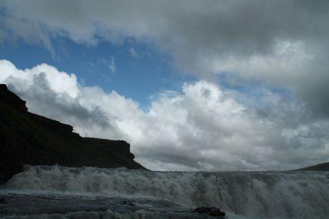 Gullfoss and sky / Gullfoss und Himmel