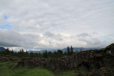 View from Þingvellir / Ausblick von Þingvellir