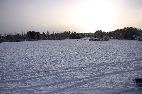 Winter in Reykjavík