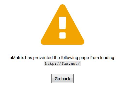 faz.net jetzt gesperrt, wegen Maßnahmen gegen Breitbandblocker